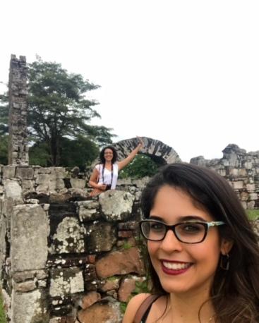 Ruínas de Panamá Viejo