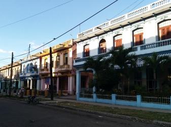 Casario do bairro de El Vedado
