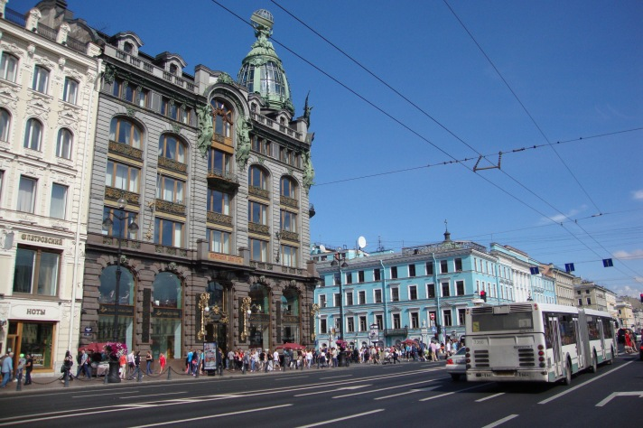 NossoMapaMundi_São Petersburgo_Avenida Niévski