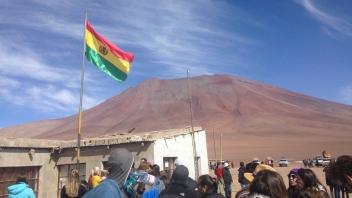Fronteira Chile-Bolívia.