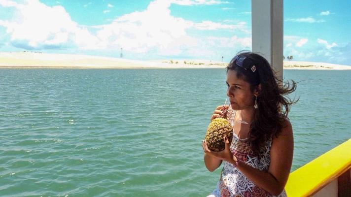 NossoMapaMundi_Alagoas_De barco na foz do Rio São Francisco