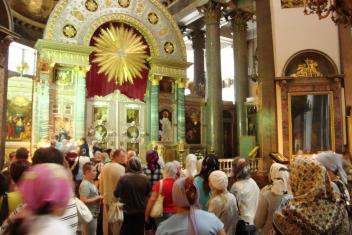 Interior da Catedral de Kazan